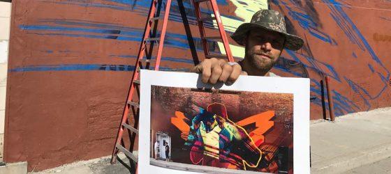 Une nouvelle murale de Bad News Brown sera inaugurée à Montréal
