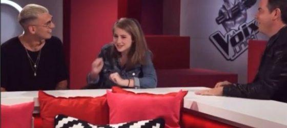 Rymz surprend une participante de La Voix Junior en direct de TVA