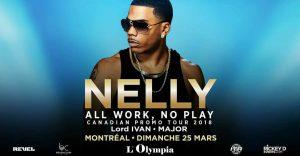 Nelly à l'Olympia de Montréal