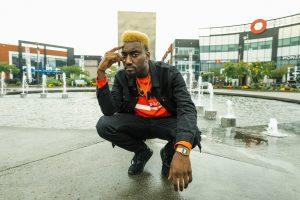 Photoshoot à #LavalOuRien avec le rappeur Green Hypnotic