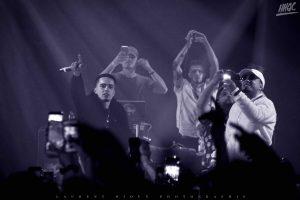 Nos 35 photos au concert complètement surchargé de White-B, Lost, MB, Gaza, Random et YH