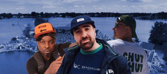 5 questions aux rappeurs québécois qui feront le show du Beachclub aujourd'hui