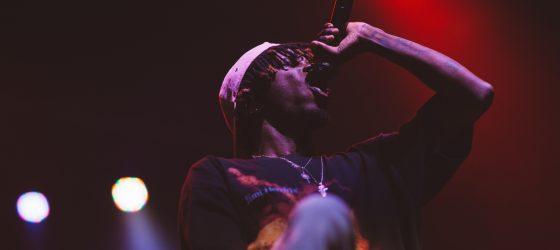 L'espoir du rap français Josman aux Francos en 46 photos