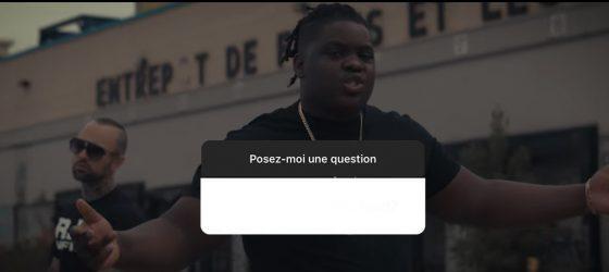 Nos rappeurs se dévoilent sur Instagram avec la nouvelle option «pose-moi une question»