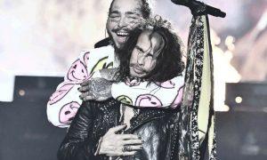 Post Malone invite Aerosmith pour remixer la chanson «Rockstar» [vidéo]