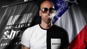 Sinik devient l'ambassadeur européen de la marque Explicit