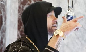 Un live d'Eminem au sommet de L'Empire State Building [Vidéo]