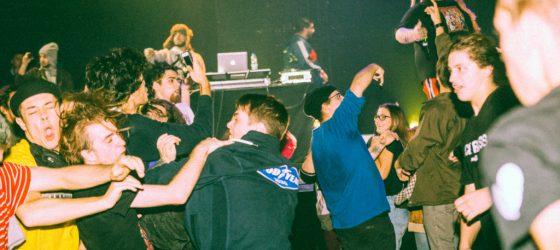 Nos photos des rappeurs américains Fat Nick, Bexey et Teddy à l'Astral mercredi soir