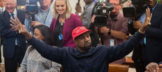 La Maison-Blanche a reçu Kanye West pour une rencontre avec Donald Trump
