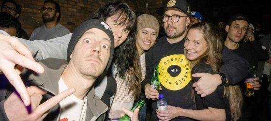 Photos : Blex Talk, le nouveau groupe de Loe Pesci, a assuré la première partie du classique new-yorkais The Beatnuts