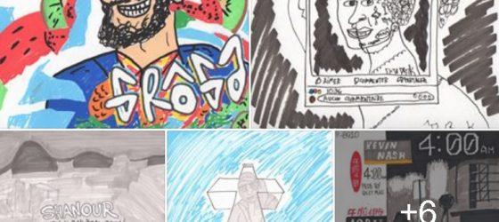 À voir : Parka dessine la pochette de ses meilleurs albums rap québécois de 2018