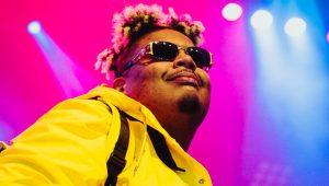 Photos : Naza, poid lourd de l'afro-rap français, est débarqué à l'Olympia de Montréal