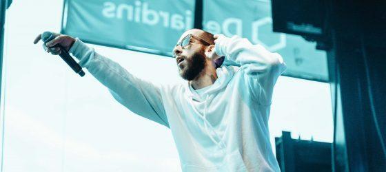 Des shows gratuits d'Eman et KNLO pour ouvrir le bal de la 31e édition des Francos de Montréal [photos]