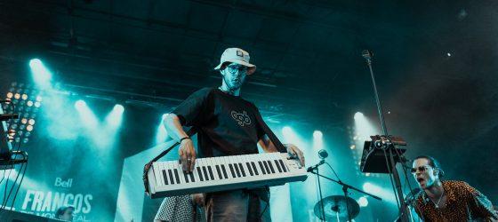 Photos : le hip-hop jazz de O.G.B séduit le public des Francos