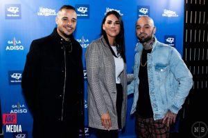 Première nomination à l'ADISQ : Souldia a remporté le vote populaire devant Les Louanges et Bleu Jeans Bleu