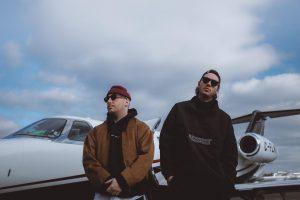 Lary Kidd et Loud débarquent en jet privé à New York pour le clip «Sac de sport»