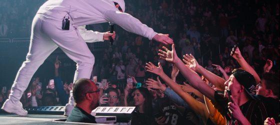 Photos : Loud a profité de la plus grosse billetterie pour un spectacle de musique au Centre Vidéotron
