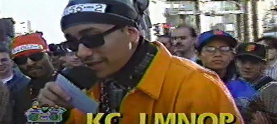DJ Choice déterre un épisode de Rap Cité, de MusiquePlus, datant de 1992